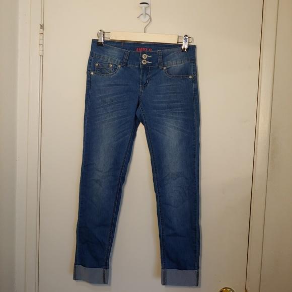 GoGo Star Denim - 💟5/$25 GoGo Star cuffed Ankle cropped jeans 1